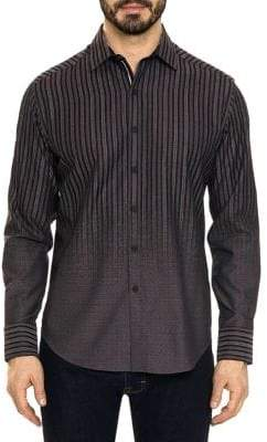 Robert Graham Gordon Faded Stripe Button-Down Shirt