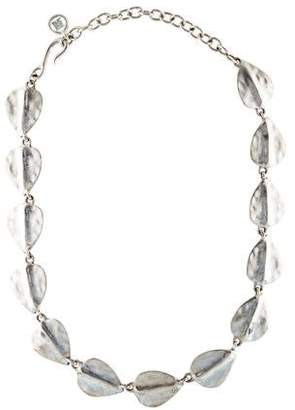 Givenchy Leaf Collar Necklace