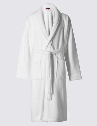 M&S CollectionMarks and Spencer Super Soft Cotton Towelling Gown