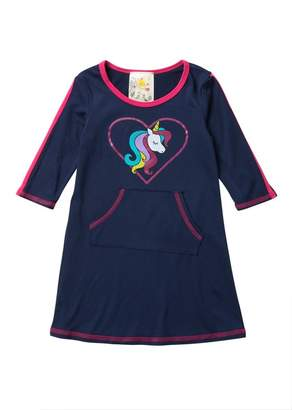 Lily Bleu Brushed Athletic Dress (Little Girls)