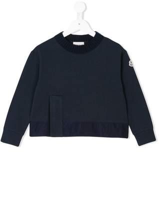 Moncler knit crewneck sweater