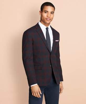 Brooks Brothers Plaid Stretch-Cotton Sport Coat