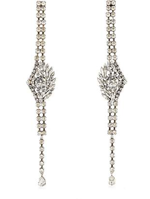 Sonia Rykiel Oversized crystal-embellished earrings