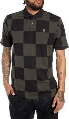 G Star Holliday Core Checker Pique Polo