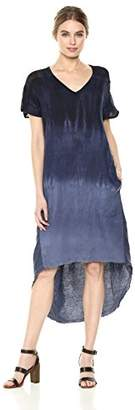 XCVI Women's Harmony Dress-Pinstripe Linen