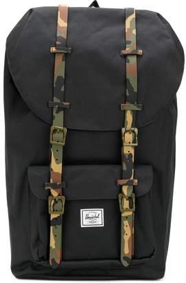Herschel camouflage strap backpack