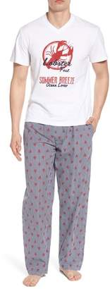 Majestic International All Hands on Deck Pajama Set