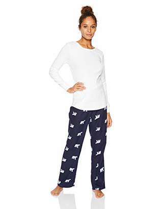Amazon Essentials Women's Lightweight Flannel Pajama Set