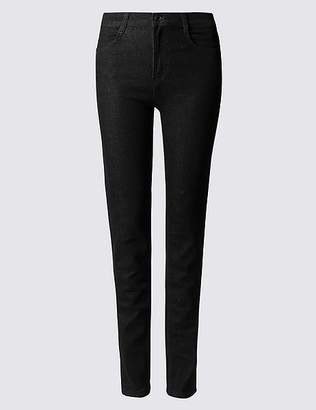 Marks and Spencer Mid Rise Straight Leg Jeans