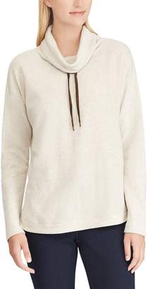 Chaps Women's Cowlneck Top