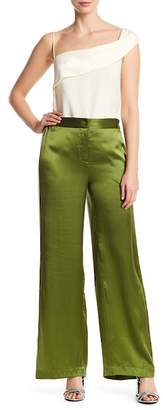 Equipment Arwen Warm Up Side Stripe Silk Pants