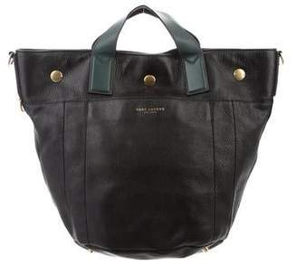 Marc Jacobs Bi-Color Leather Bucket Tote