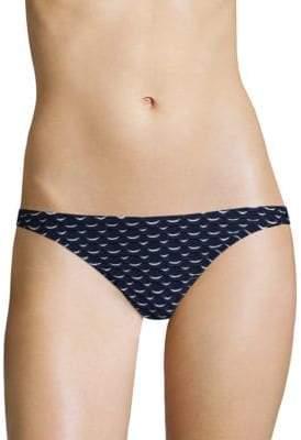 Milly St. Lucia Printed Bikini Bottom