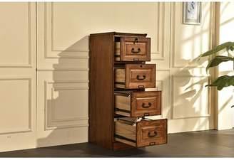 Co Darby Home Sarthak 4 Drawer Vertical Filing Cabinet