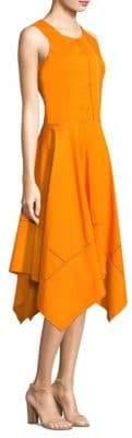 Donna Karan Sleeveless Trapeze Dress