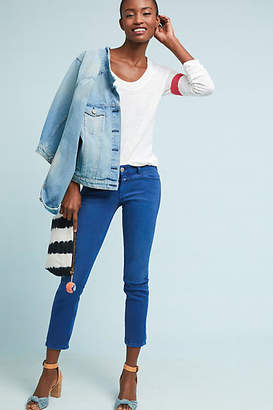 Closed Starlet Low-Rise Cropped Skinny Jeans