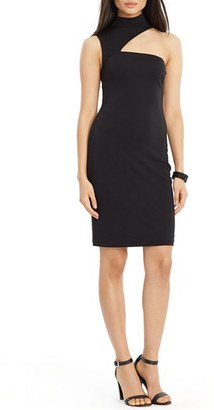Women's Lauren Ralph Lauren Asymmetrical Sheath $164 thestylecure.com