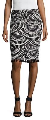 Dorris Cotton Pencil Skirt