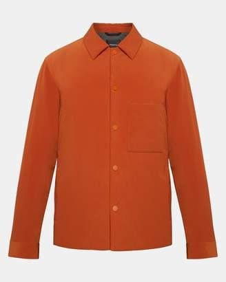 Theory Paper Nylon Shirt Jacket