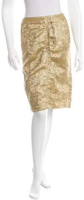 Vera Wang Jacquard Pencil Skirt $52 thestylecure.com