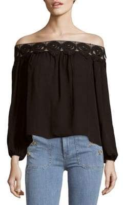Stone_Cold_Fox Kyoko Lace Off-The-Shoulder Top