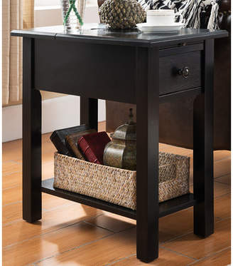 Andover Mills Lundgren End Table With Storage