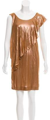See by Chloe Metallic Mini Dress