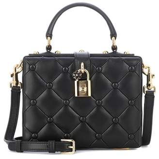 Dolce & Gabbana Dolce Box leather shoulder bag