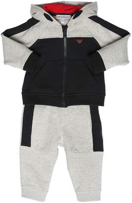 Emporio Armani Cotton Sweatshirt Hoodie & Sweatpants