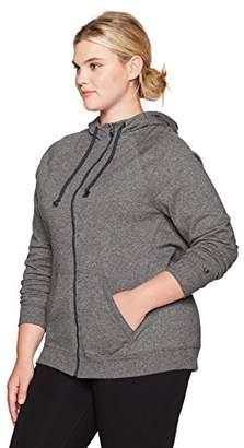Champion Women's Plus Size Fleece Full Zip Hoodie