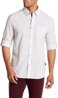 John Varvatos Striped Trim Fit Shirt