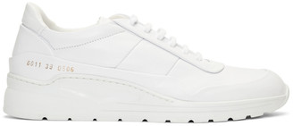 Common Projects Woman By Woman by White Cross Trainer Sneakers