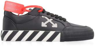 Off-White Off White Arrow Low Leather Sneakers
