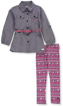 Lee Little Girls' 2-Piece Outfit