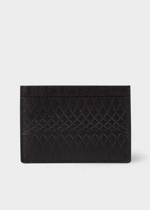 Paul Smith No.9 - Black Leather Card Holder