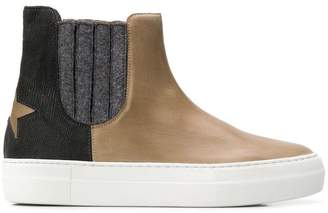 Lorena Antoniazzi color block boots