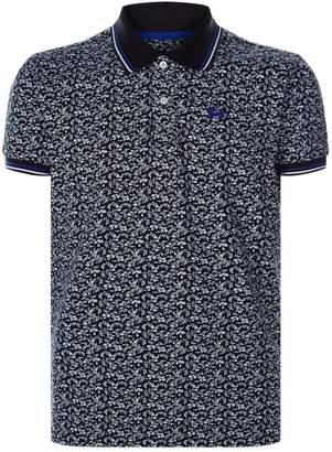 La Martina Floral Polo Shirt