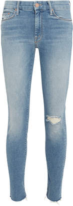 Mother The Looker Cropped Ankle Jeans
