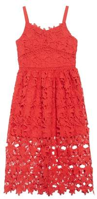 Trixxi Floral Lace Dress