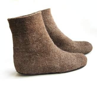 Felt Forma Organic Wool Booties