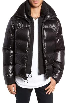 Logan The Very Warm Water Repellent Down & Feather Fill Puffer Jacket