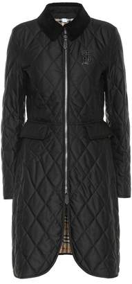 Burberry Ongar quilted coat