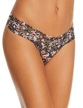 Hanky Panky Petite Thumbelina Low-Rise Stretch Lace Thong