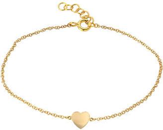 Zoe Lev Jewelry 14k Gold Heart Bracelet
