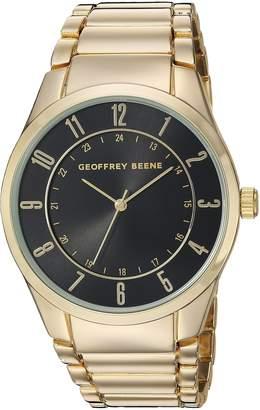Geoffrey Beene Men's Quartz Metal and Alloy Dress Watch, Color:Gold-Toned (Model: GB8113GD)