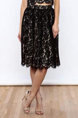 Yumi Midi Lace Skirt