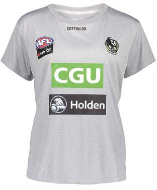 Cotton On Collingwood Magpies AFLW 2018 Women's Training Tee