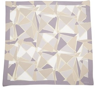 Women's Lafayette 148 New York Watercolor Silk Twill Scarf $298 thestylecure.com