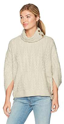 Design History Women's Cocoon W/Split Cowl Nk Sweater