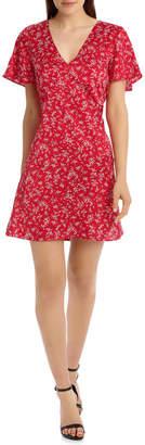 Miss Shop Empire Line Dress - Wallpaper Ditsy